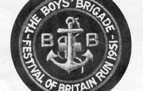 Boys Brigade Festival of Britain Run May 1951