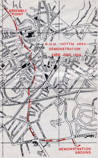 Route - 1956 Programme | Private Collection