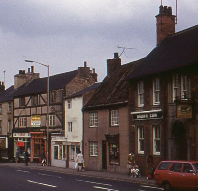 Photo that shows the shop next to the Brown Cow which used to be Chamberlains Newsagents | D Johnson