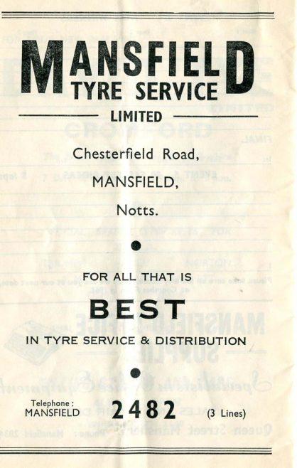 Mansfield Maun Motor Cycle & Car Club