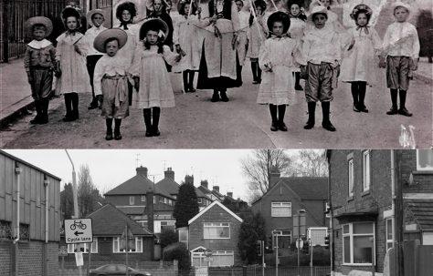 Mystery Photo 1908 - A Comparison