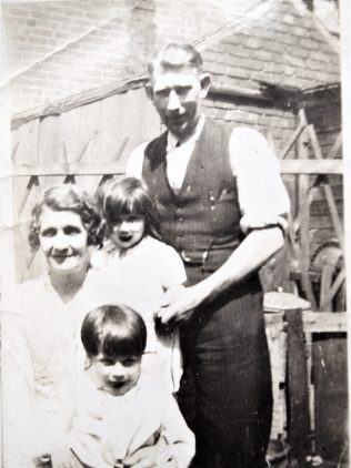 Annie & John Lenox with their 2 youngest children, Michael & Margaret | private family collection