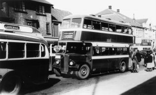 The omnibus replaced the trams in 1932.