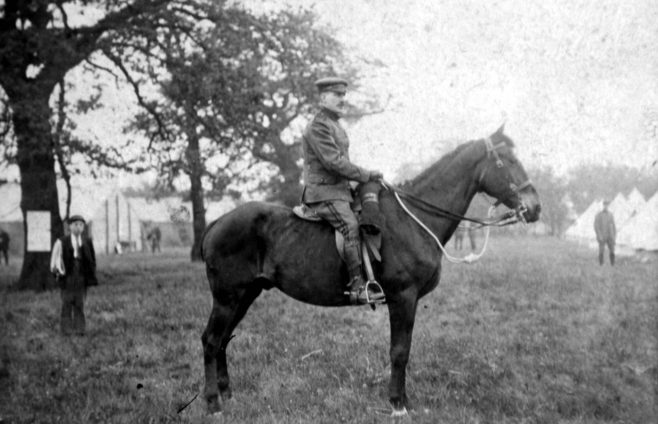 James Newton - Notts Hussars/Yeomanry