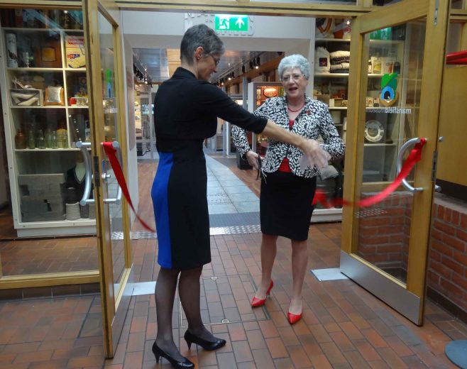Cutting the ribbon | M & P Marples