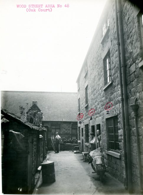 Wood Street Area (Oak Court) | Mansfield Museum
