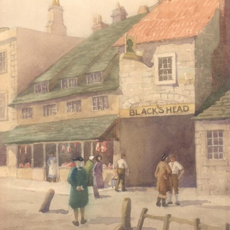 The Black's Head, Market Place