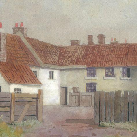 Back of Horse & Jockey, Leeming Street 1909