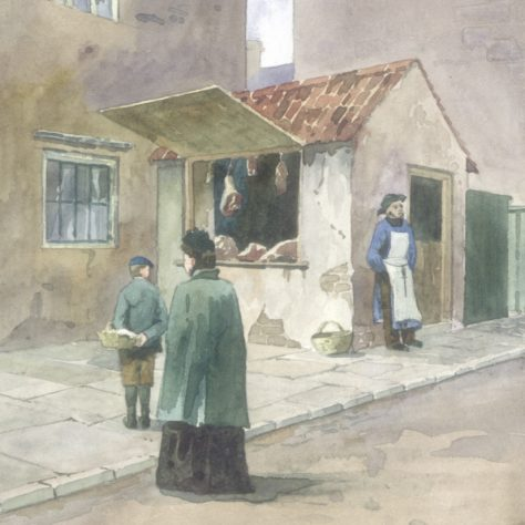 Butcher's Shop, Stockwell Gate 1903