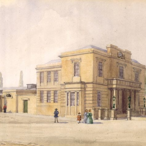 Town Hall and Prison, 1839