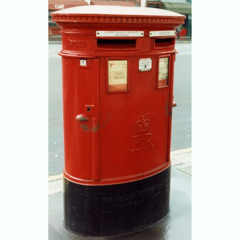 Queen Elizabeth II Type 'C' (Double Aperture) Pillar Box | Malcolm Marples