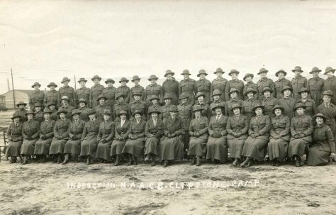 Women at Clipstone Camp