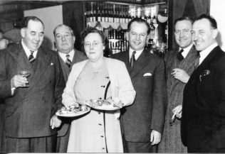 Mrs S Fairclough, Mr G E Titchner, Mrs C Sanders, Mr J B Eastwood, Mr A G Morris, Mr R Bradbury (Head Brewer) | Private Collection