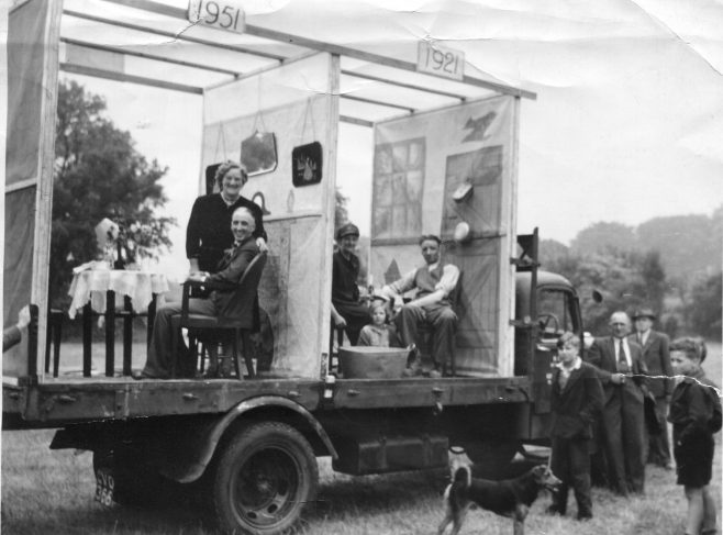 No 4 - Dray at 1st Miners Gala 1951