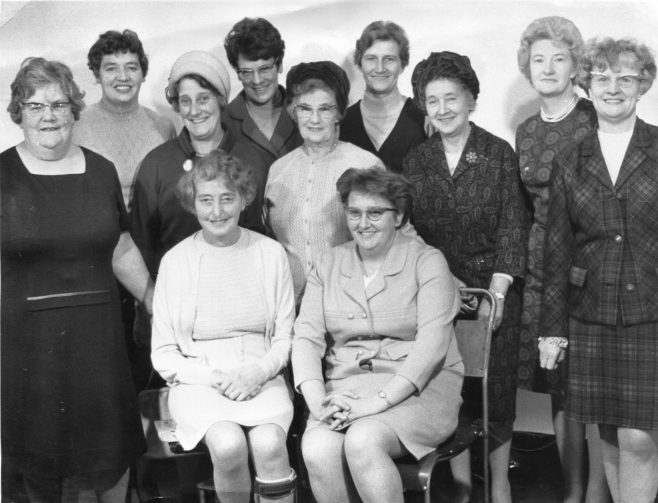 NO 1 - Mansfield Colliery Ladies Section 1971