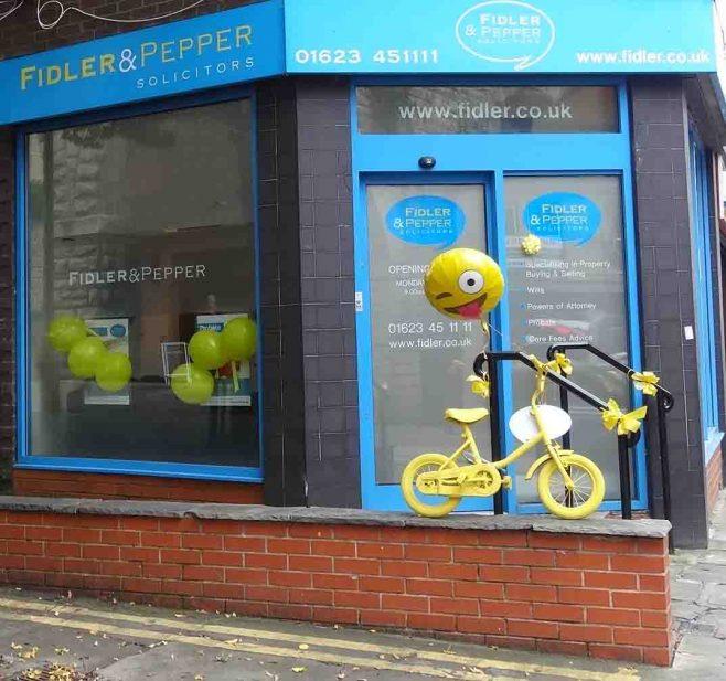 Fun Cyclist at Fidler & Pepper | P & M Marples