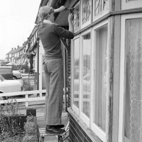 Freak hail storm Pleasley 1975 | Mansfield Chad