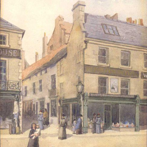 Bottom of Leeming Street
