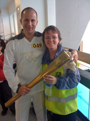 Me, Steve and the torch