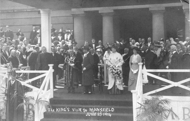 Royal Visit to Mansfield | Private collection
