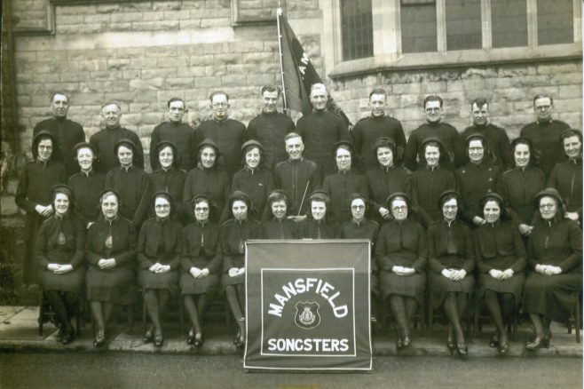 Mansfield Salvation Army Songsters Brigade (Choir)