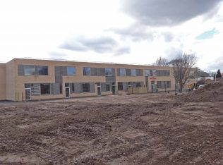The new school building 30 March 2016 | P Marples