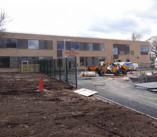 New school building 30 March 2016 | P Marples