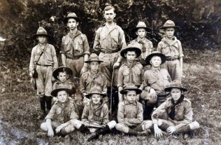 Syney Marlow and the First Figi Scout Troop | Circa 1914