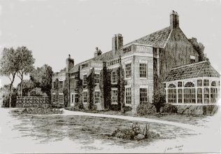 Sketch of Sherwood Hall | J Michael Hargeaves