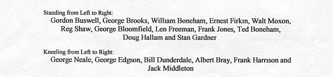Boneham & Turners 1949/50