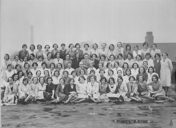 Mansfield Shoe Company Photographs