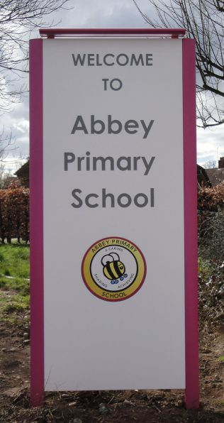 New school sign - 30 March 2016 | M Marples