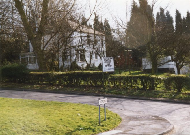 small Holding that became know as Threethorne Kennels & Cattery - March 1998 | P Marples