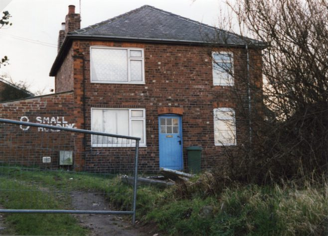 Small Holding on Old Mill Lane, taken March 1989 no longer evident | P Marples
