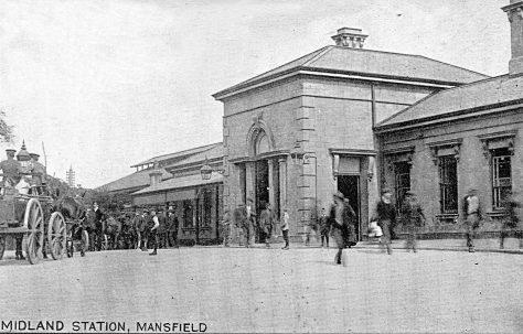 Mansfield Midland Station