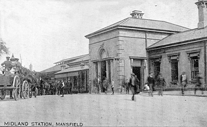 Mansfield Midland Station | YMCA Series