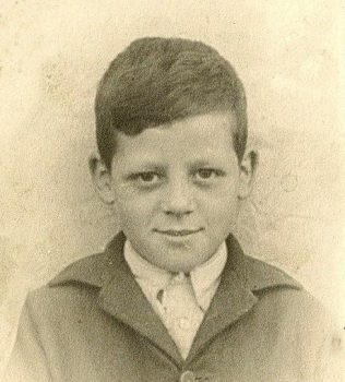 Norman Fryer aged 10 | Private Collection