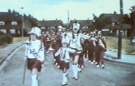 Marching Band Parade - Olive Grove, Forest Town.