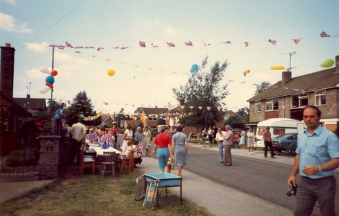Silver Jubilee Celebrations in Warsop 1977