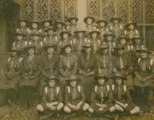 9th Mansfield Girlguides - Westfield Folkhouse 1919