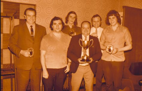 Squinting Cat Darts Team 1974