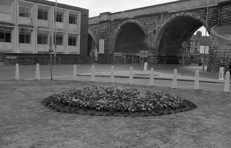 Mansfield Flower Beds 1983