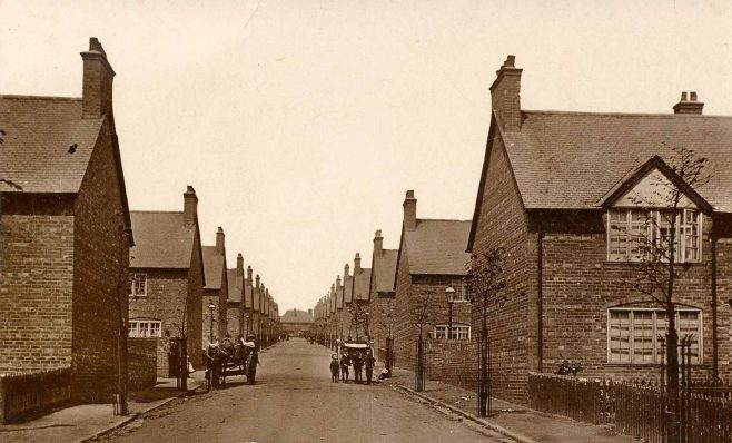 The Avenues looking up towards Forest Town Stores | P Marples Collection