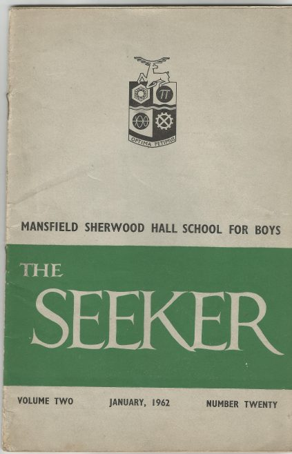 Volume 2 No.20 | The School