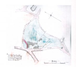 parcel of land belonging to Gilcroft House