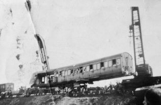 Train Derailment at Forest Town | Private collection