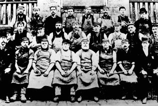 Mansfield Brewery Employees 1899 | Mansfield Museum