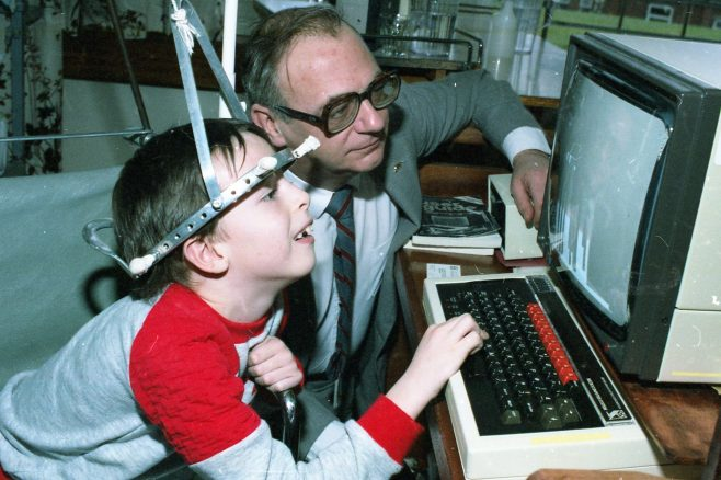 In 1985 the child possibly knew more than Roy Hudd about computers | Chad W4904 - 33