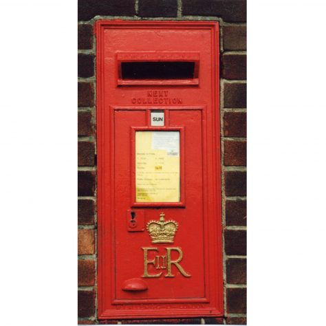 Queen Elizabeth II Wall Box | Malcolm Marples