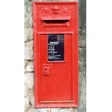 Queen Victoria Wall Box | Malcolm Marples
